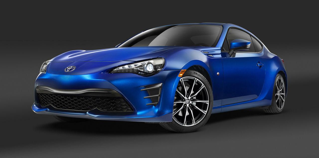 Toyota ger GT86 ett litet lyft