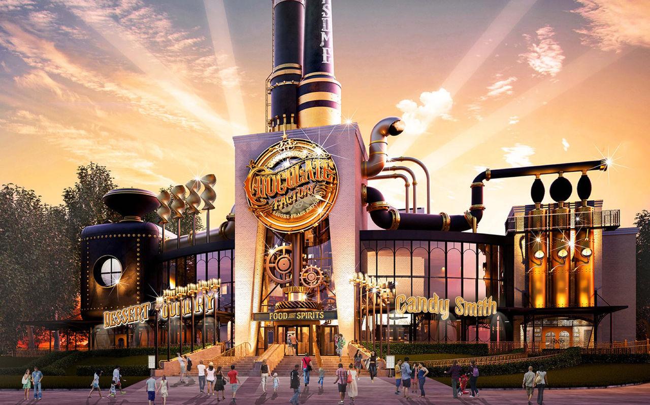Universal Studios ska bygga en Willy Wonka-fabrik