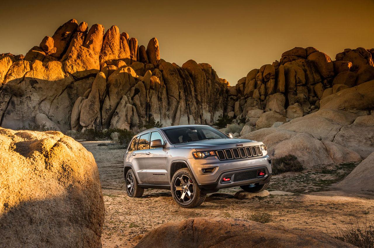 Jeep Grand Cherokee får ny Trailhawk-behandling