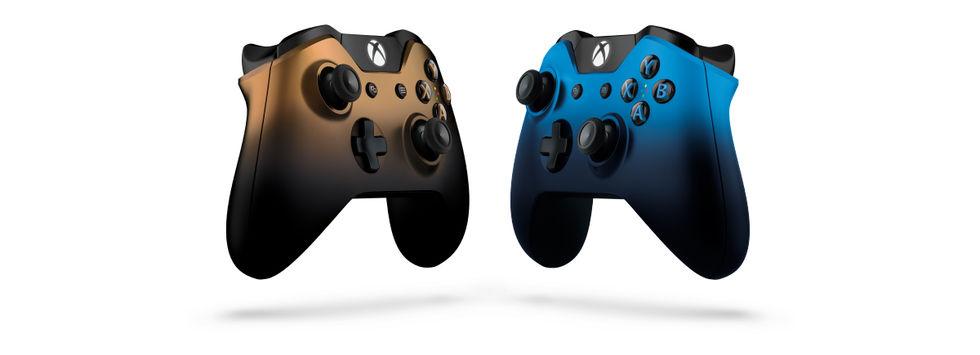 Microsoft visar upp två nya handkontroller till Xbox One