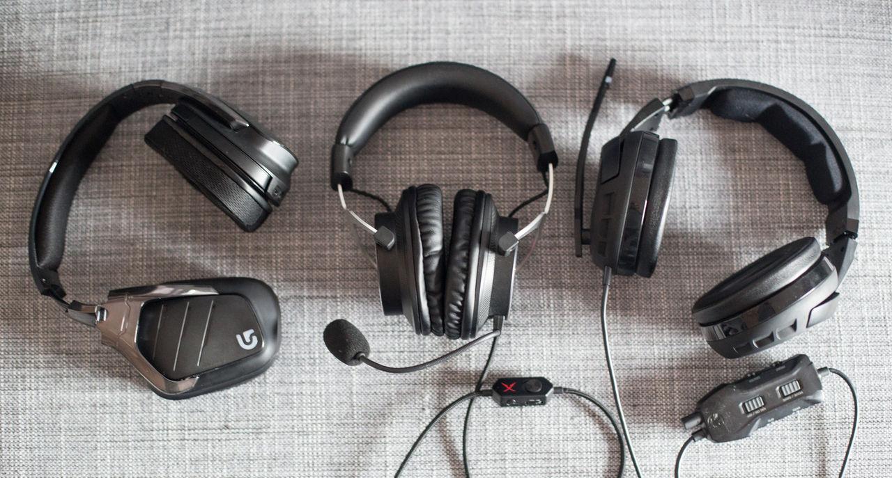 Vi har testat tre hörlurar för gamers
