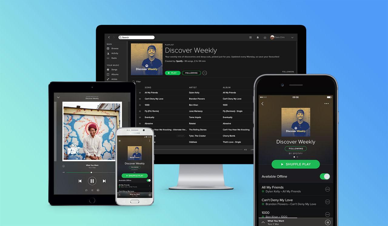 Spotify har över 30 miljoner betalande användare