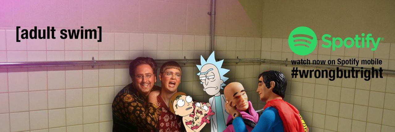 Titta på Rick and Morty på Spotify