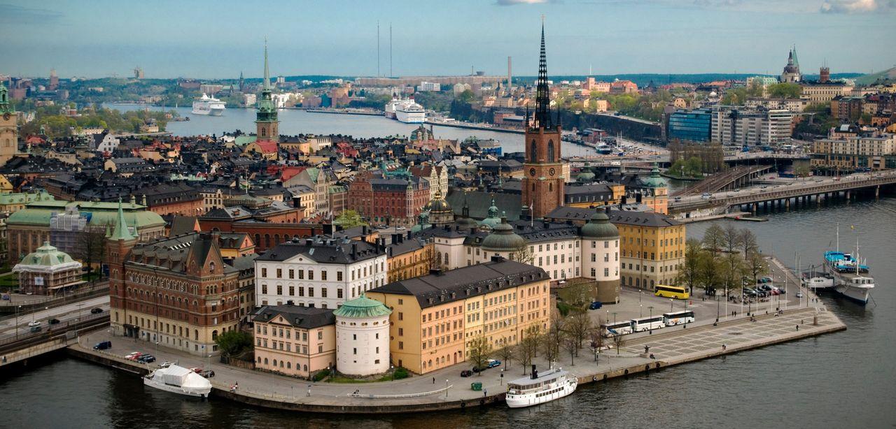 I Stockholm jobbar man med data