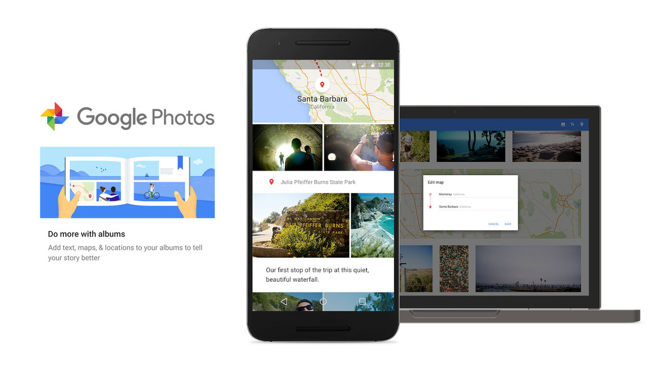 Google Photos introducerar smartare fotoalbum