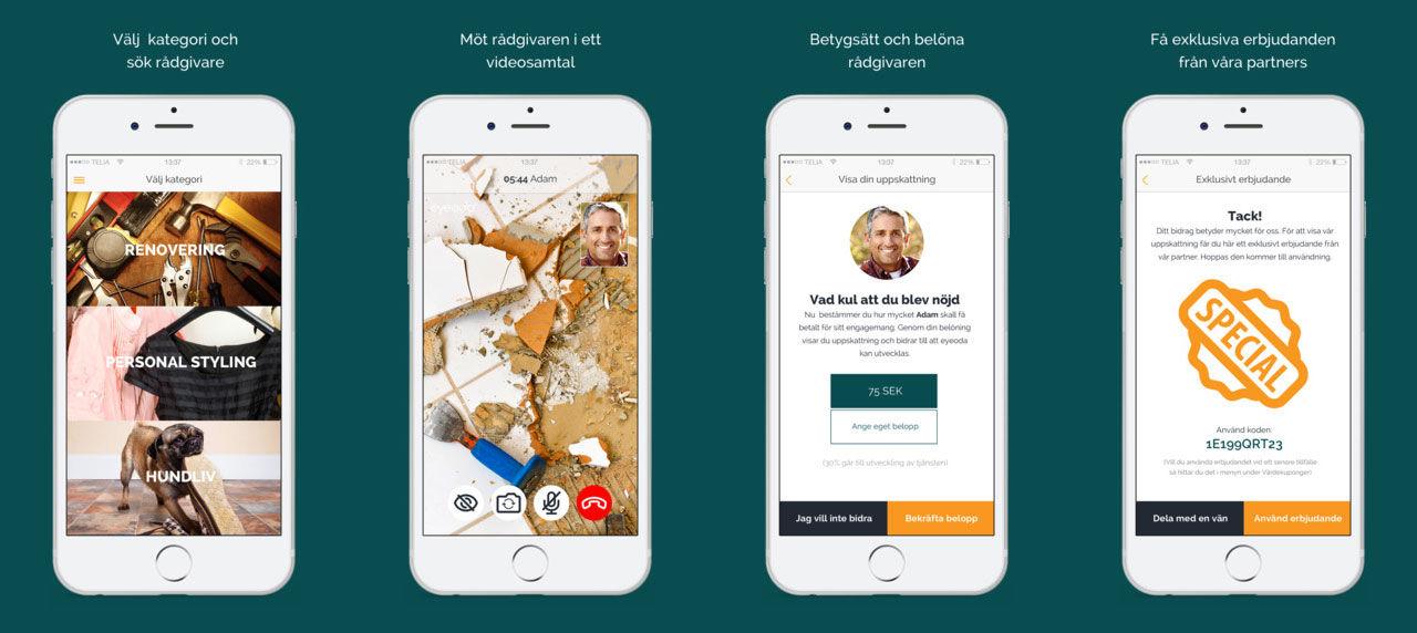 Få personliga råd direkt i mobilen med Eyeoda