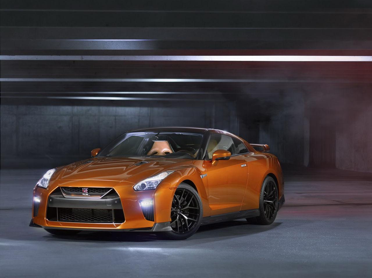 Det blev ytterligare en uppdatering för Nissan GT-R