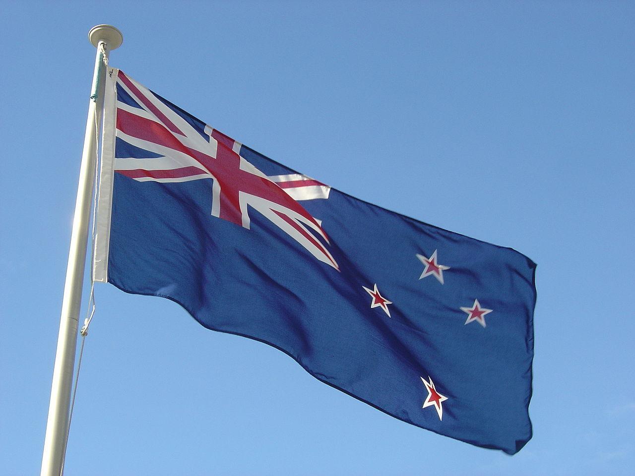 Nya Zeeland behåller sin flagga