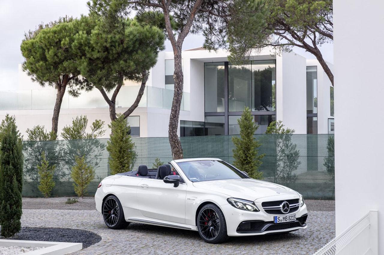 Mercedes C-Klass Cabriolet nu även i AMG-utförande