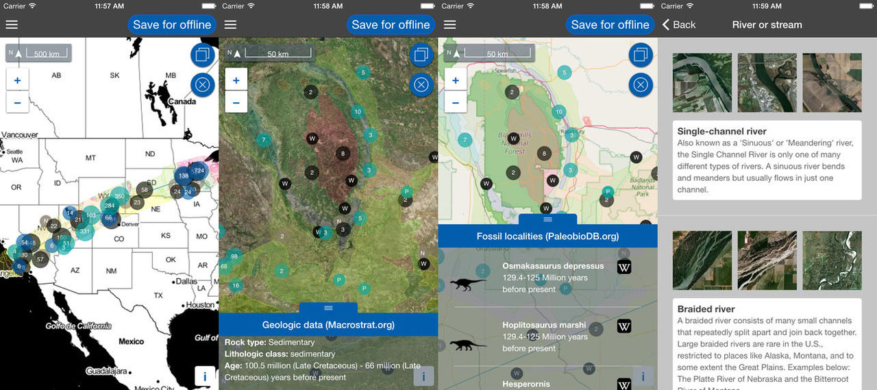 Kolla in vad du flyger över med appen Flyover Country