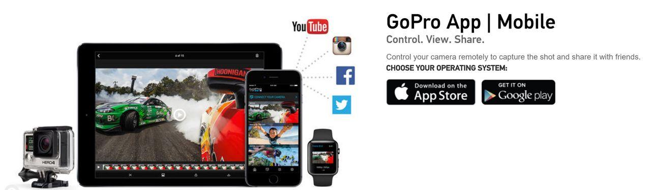 GoPro plockar bort stöd för Windows Phone