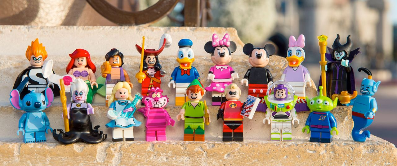 LEGO börjar sälja enskilda Disney-minifigurer
