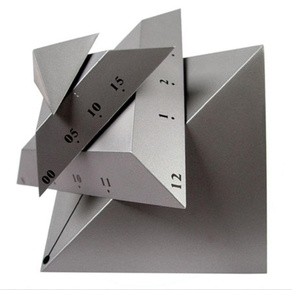 Time Cube - kantig klocka