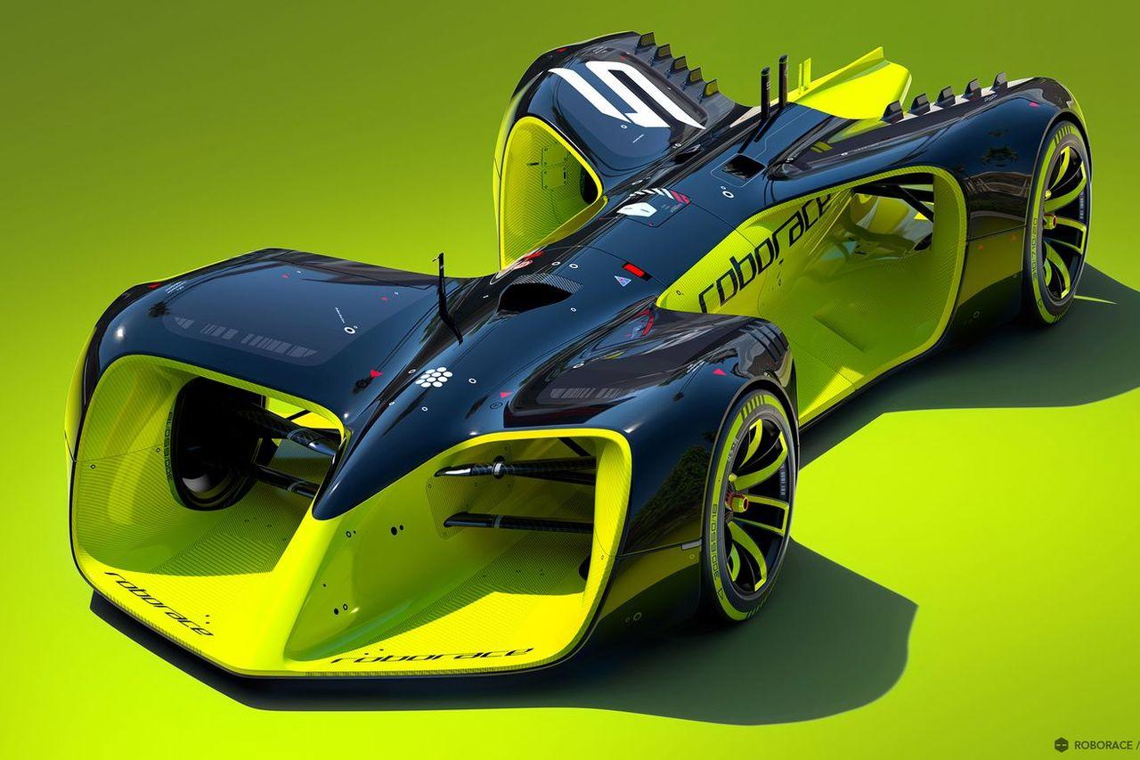Så här kan bilarna i Roborace komma att se ut