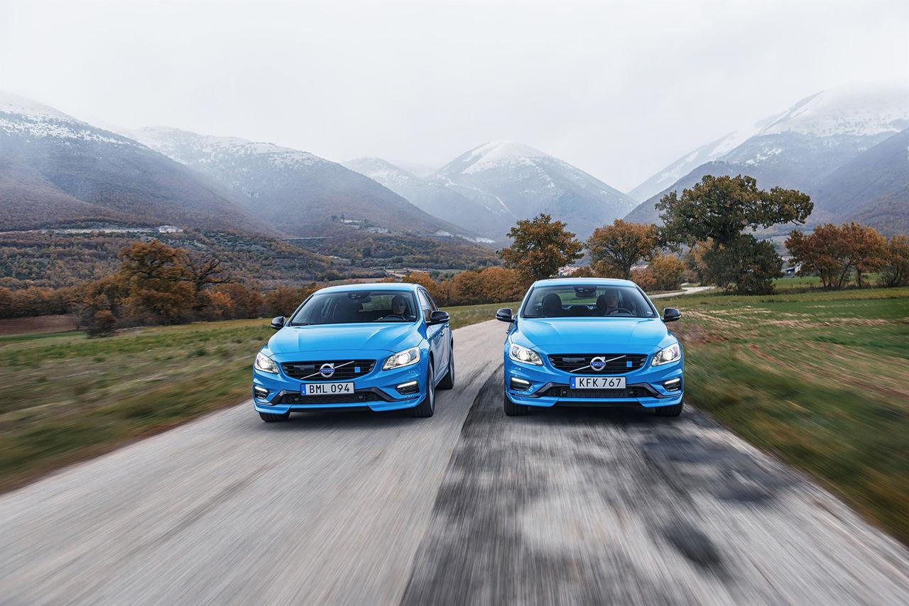 Polestar höjer effekten ytterligare i Volvo S60 och V60