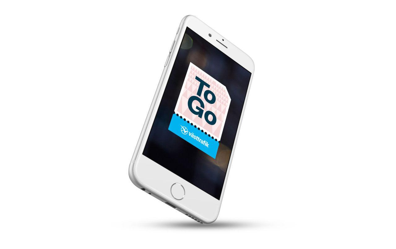 Västtrafik blir först med månadskort i mobilen