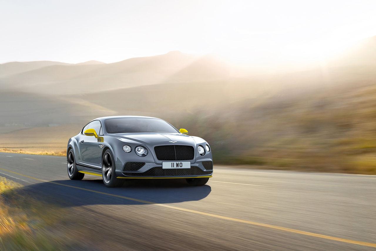 Ännu mer effekt i Bentley Continental Speed