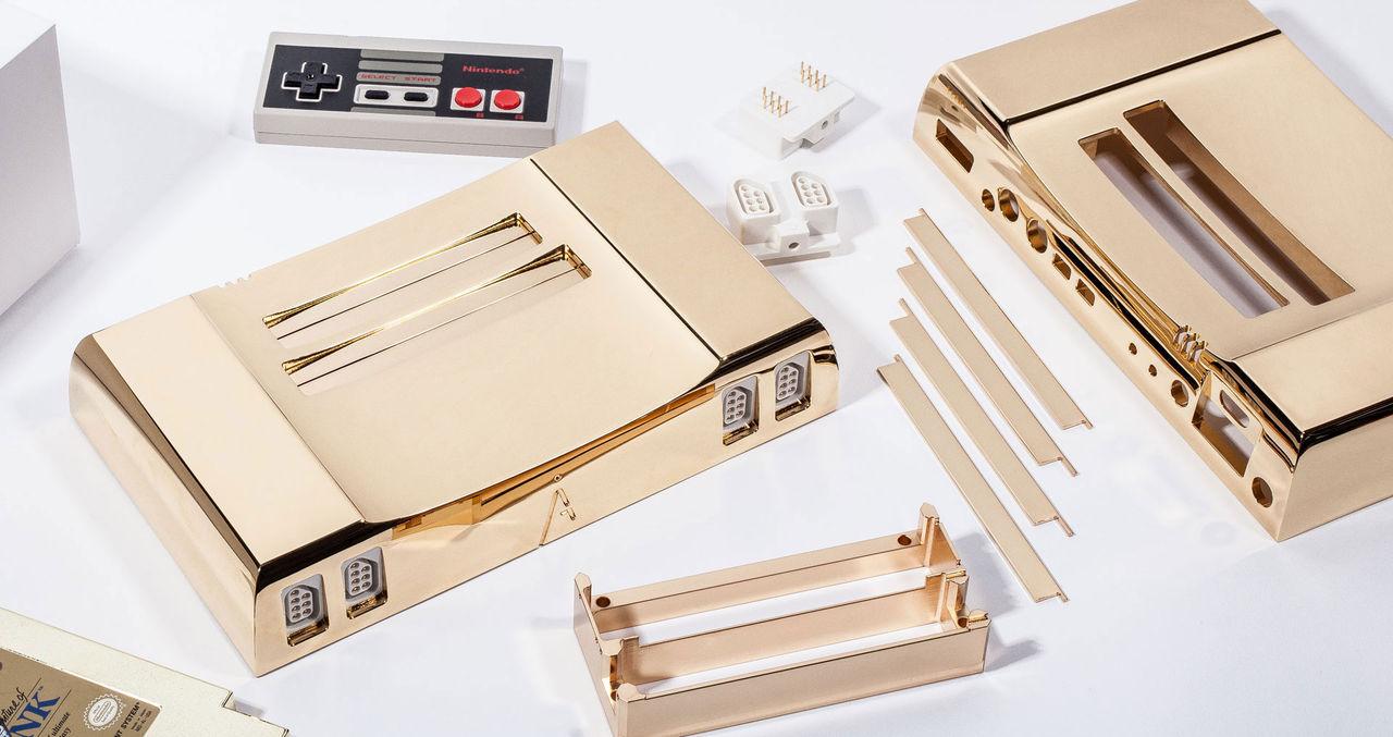 En NES-konsol för 40 000 kronor