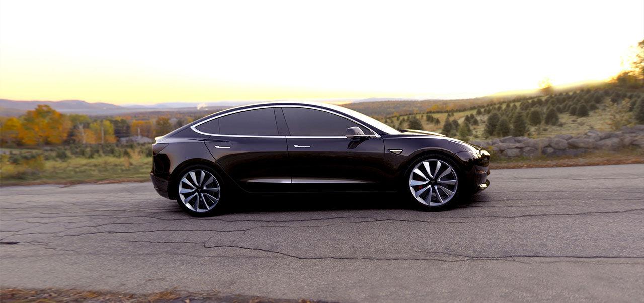 Nissans vd är glad över Teslas bokningssuccé med Model 3