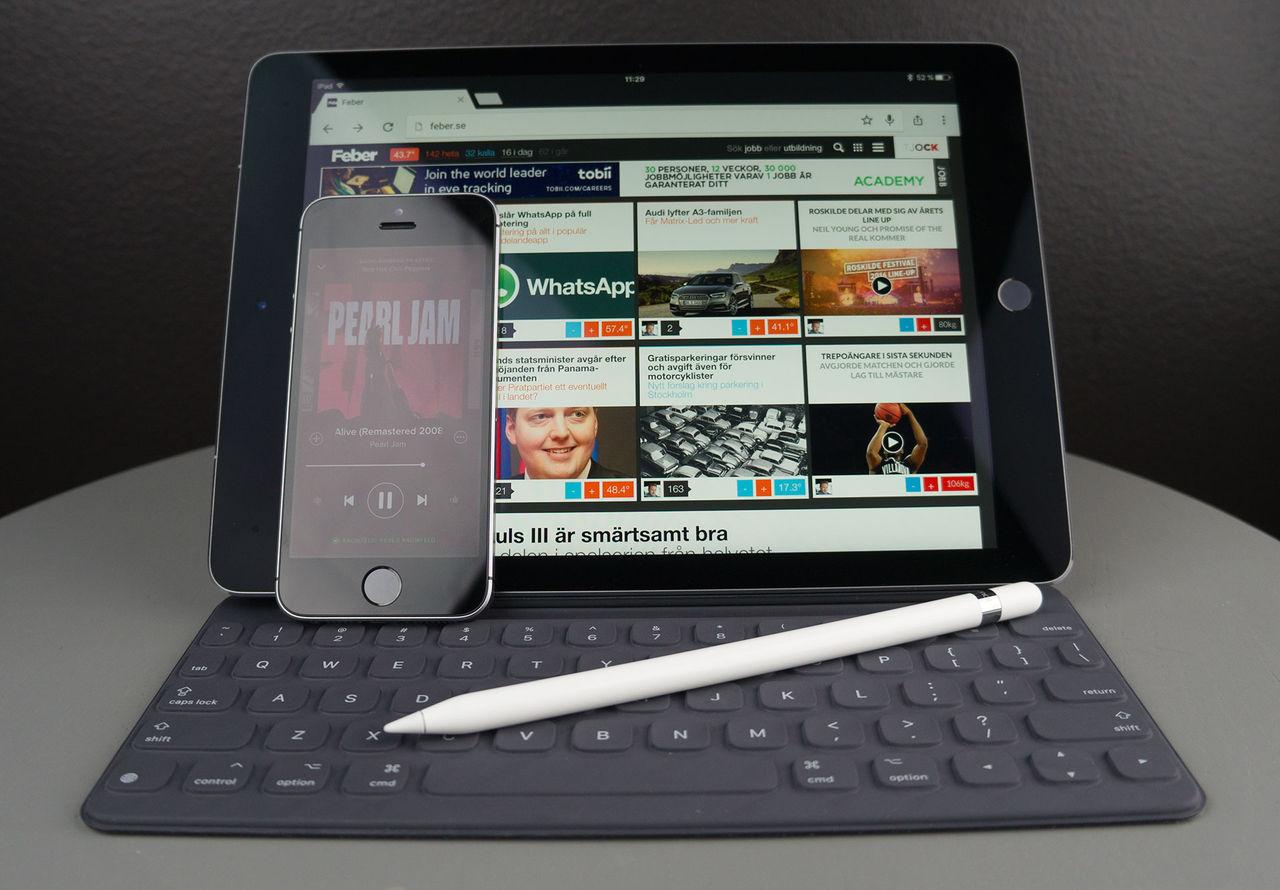 Vi har fått in iPhone SE och iPad Pro 9,7 tum