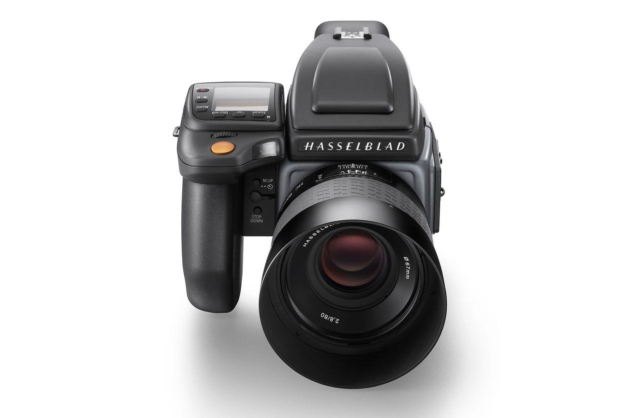 Hasselblad presenterar kameran H6D med 100 megapixel