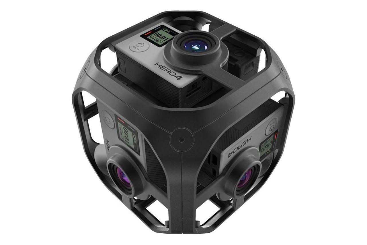 GoPro visar upp VR-riggen Omni