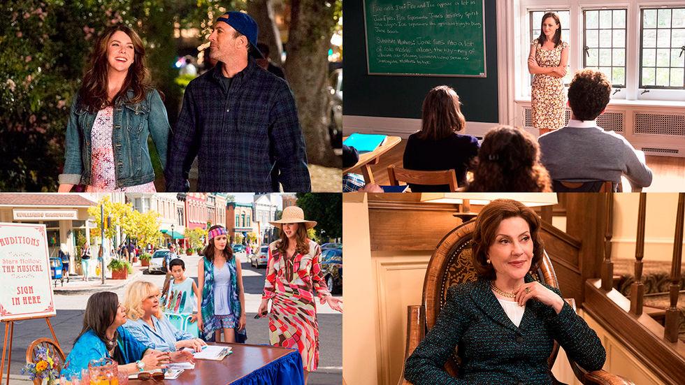 Första bilderna från nya Gilmore Girls-säsongen
