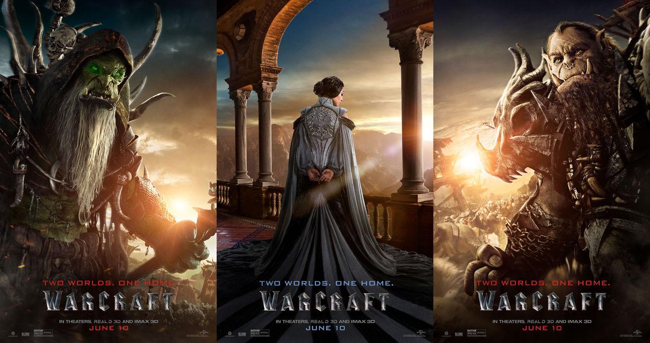 Nya affischer för Warcraftfilmen presenterade