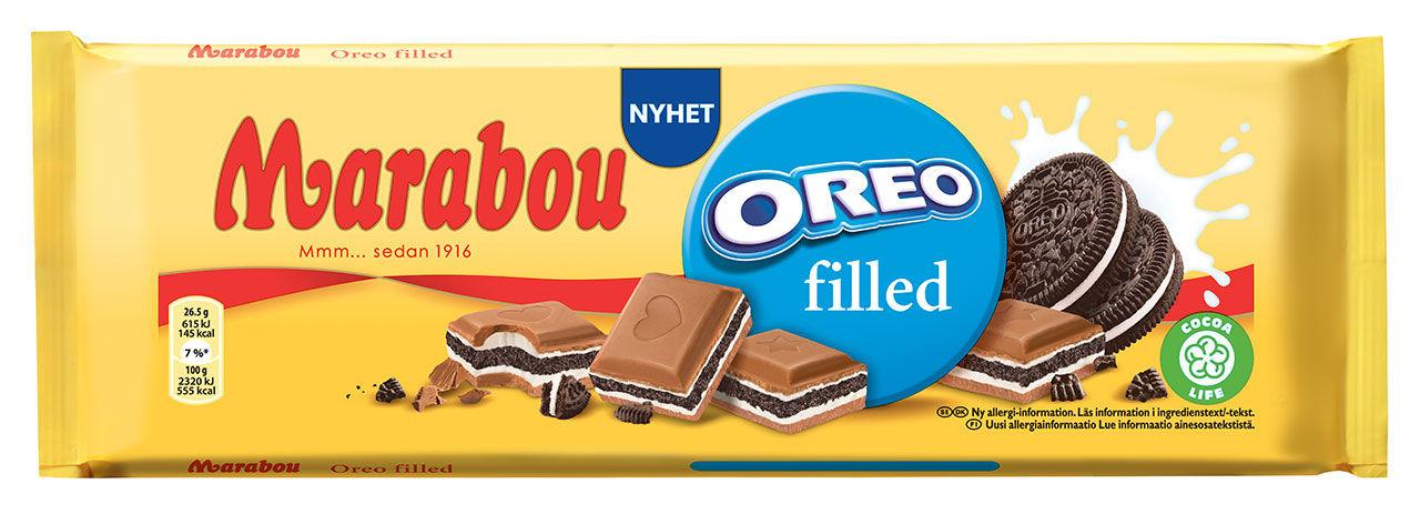 Ny chokladkaka med Oreo-fyllning