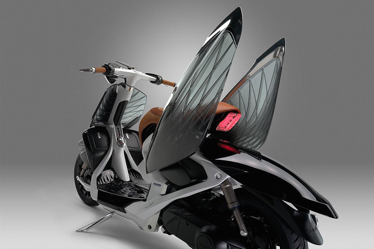 Yamahas senaste scooter ser ut som en insekt