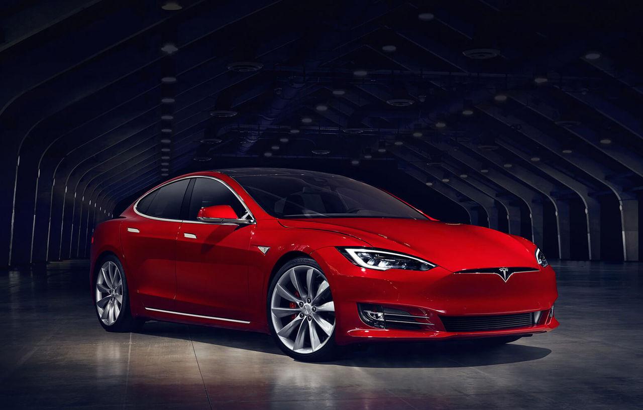 Tesla uppdaterar Model S med ny front och snabbare laddning