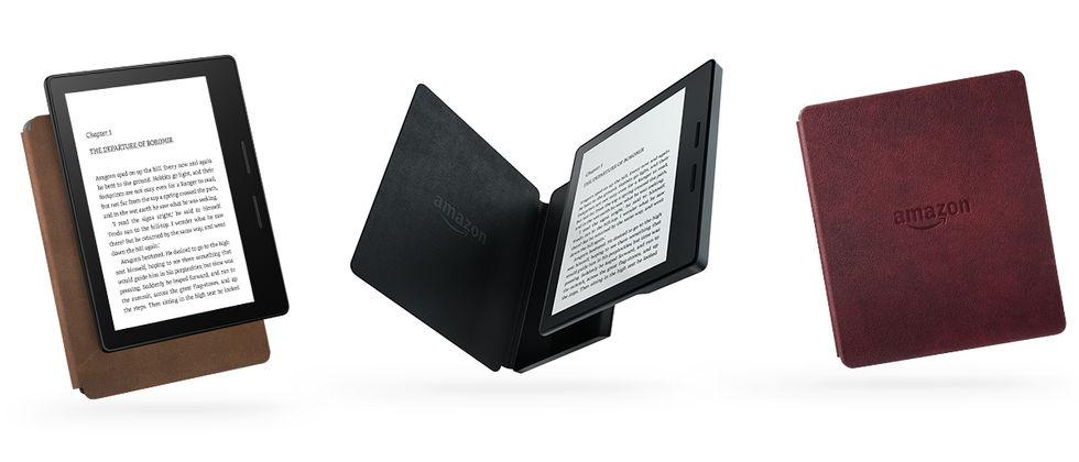 Amazon visar upp Kindle Oasis