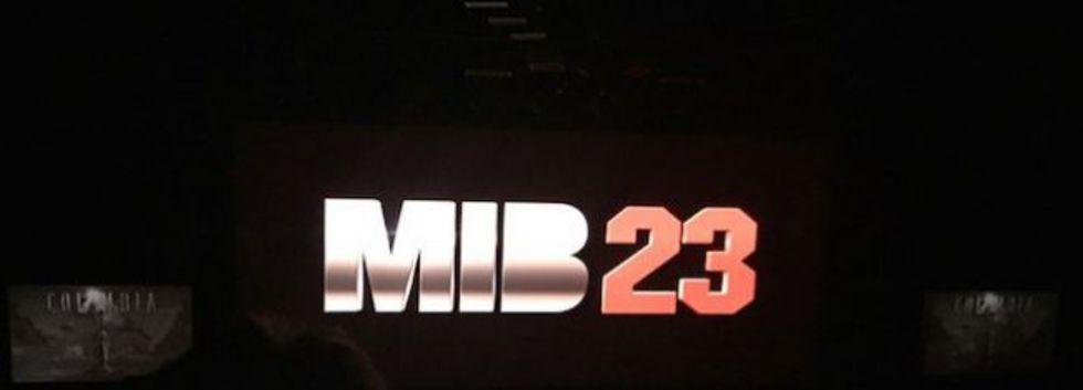 Sony har visat loggan för sin Jump Street vs Men in Black-film