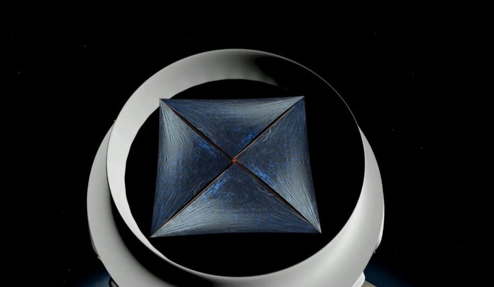 Stephen Hawking vill bygga flotta av rymdfarkoster
