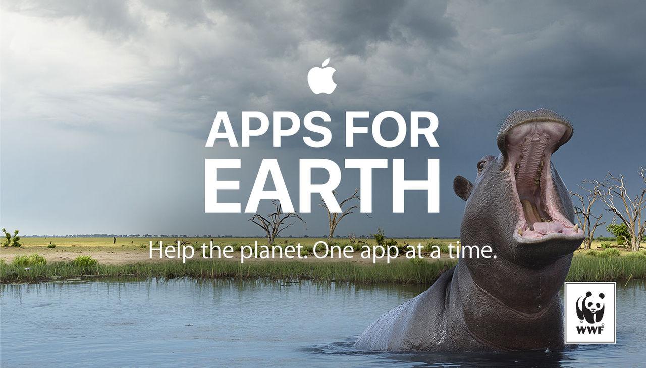 Apple och apputvecklare donerar intäkter till WWF:s Earth Day