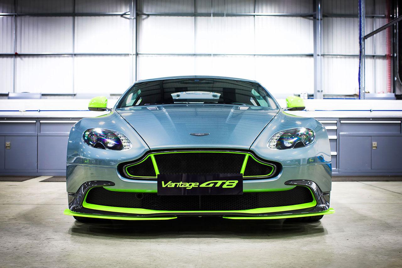 Aston Martin presenterar V8 Vantage inspirerad av GT-bilarna