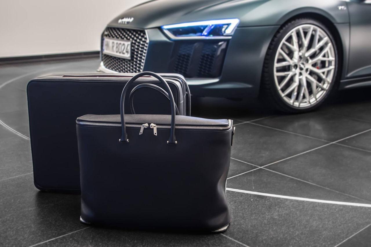 Väskor anpassade för Audi R8