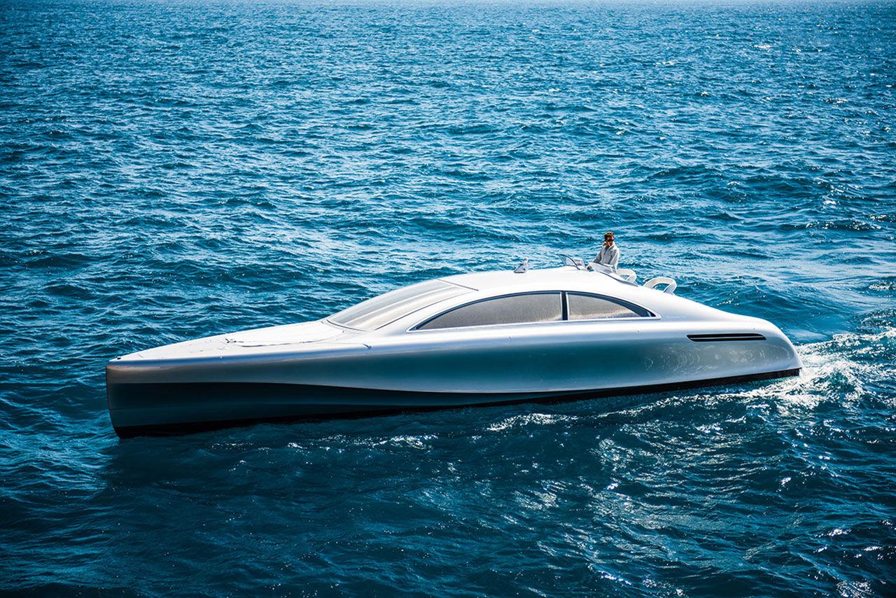 Det här är Mercedes första båt