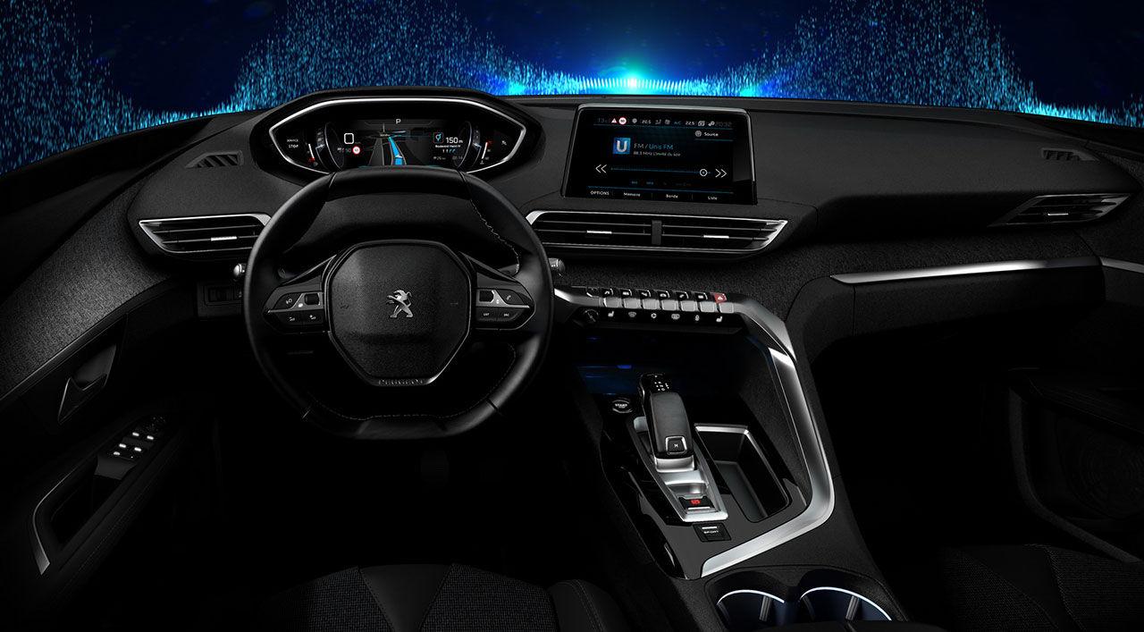 Peugeot visar nästa generations interaktiva förarmiljö
