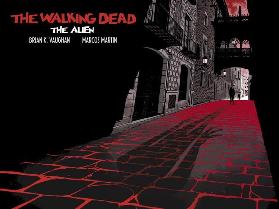 Brian K. Vaughan släpper sin The Walking Dead-serietidning