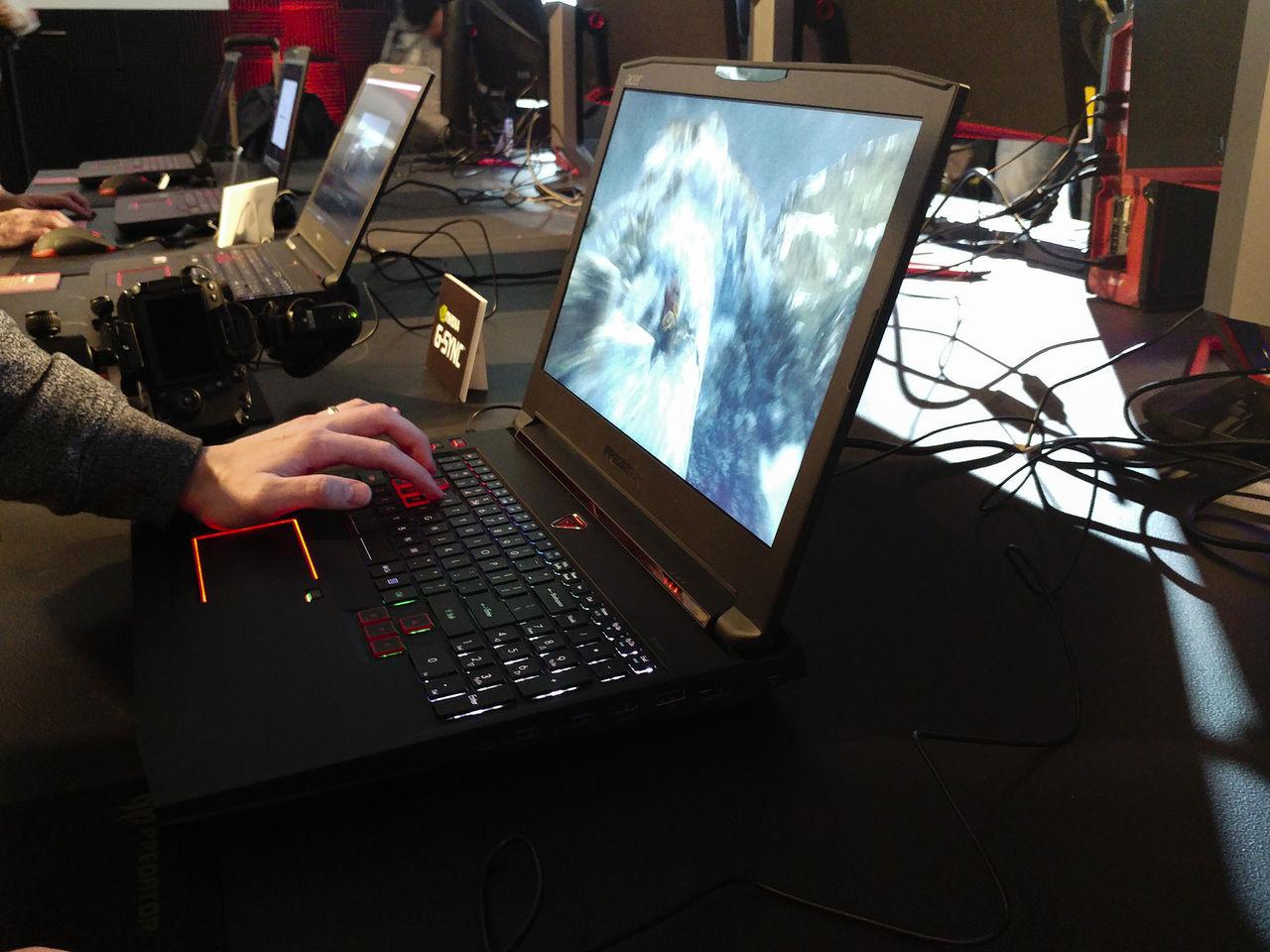 Acer visar upp spellaptopen Predator 17X
