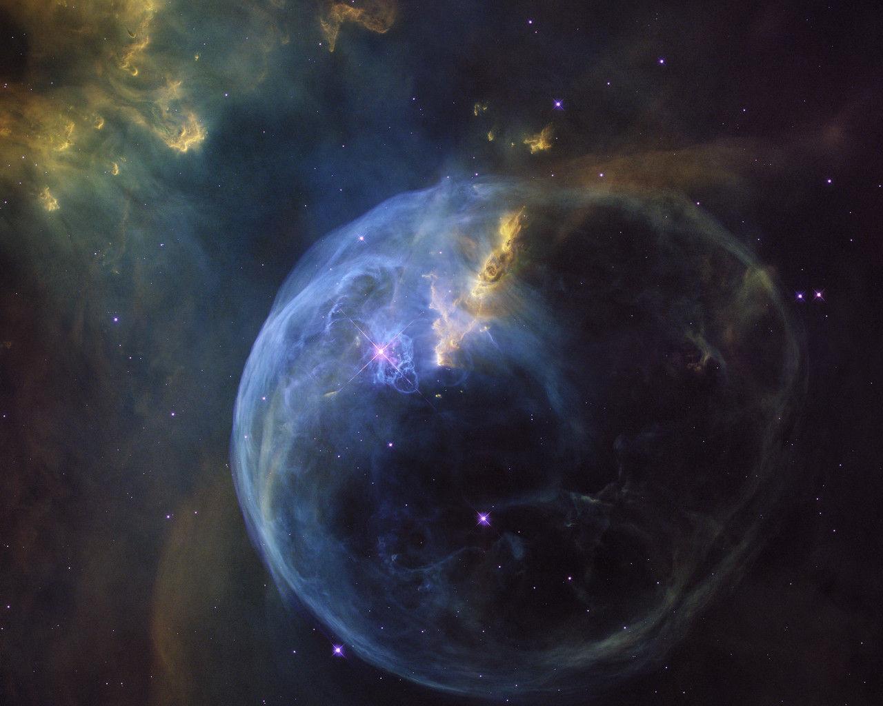 Tut i luren - Hubble-teleskopet fyller 26 år