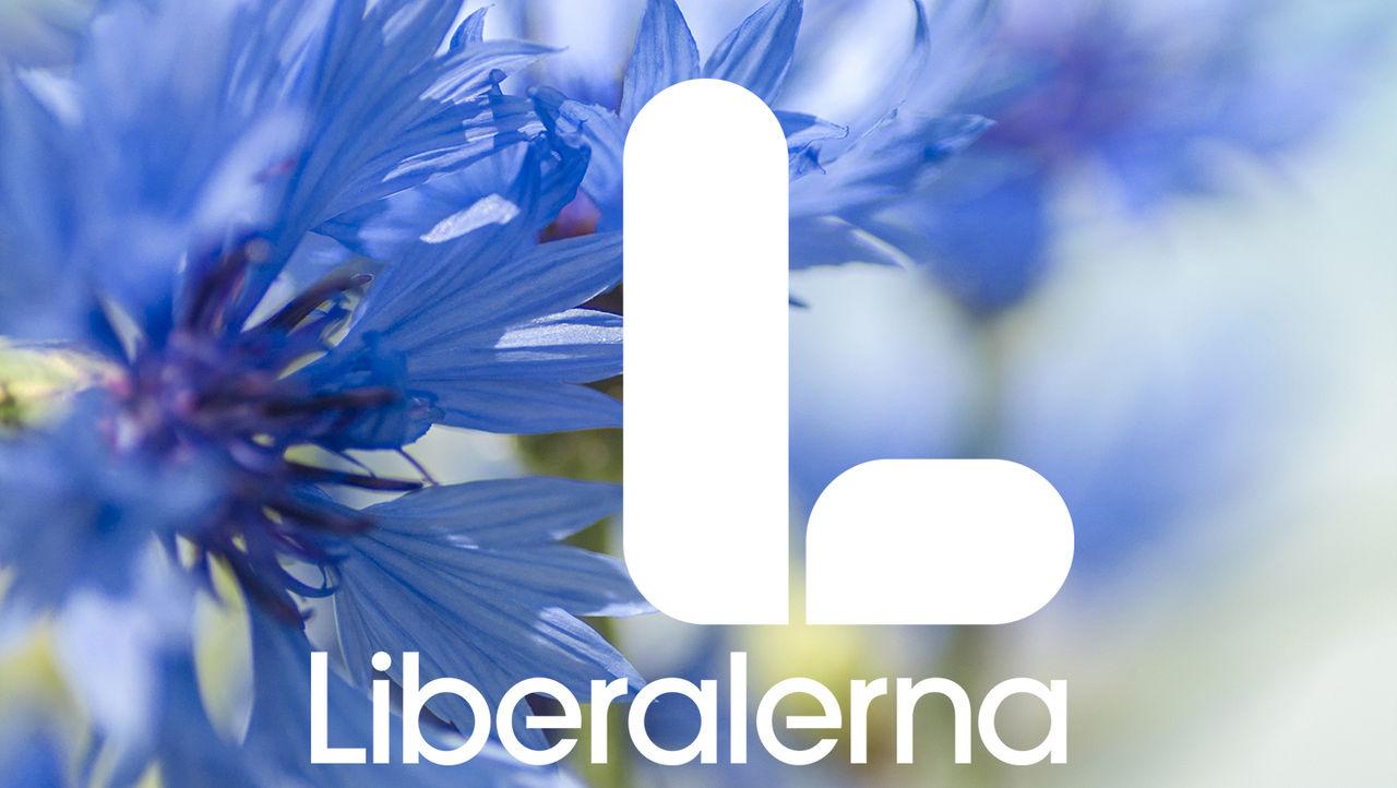 Liberalerna har fått en ny partisymbol