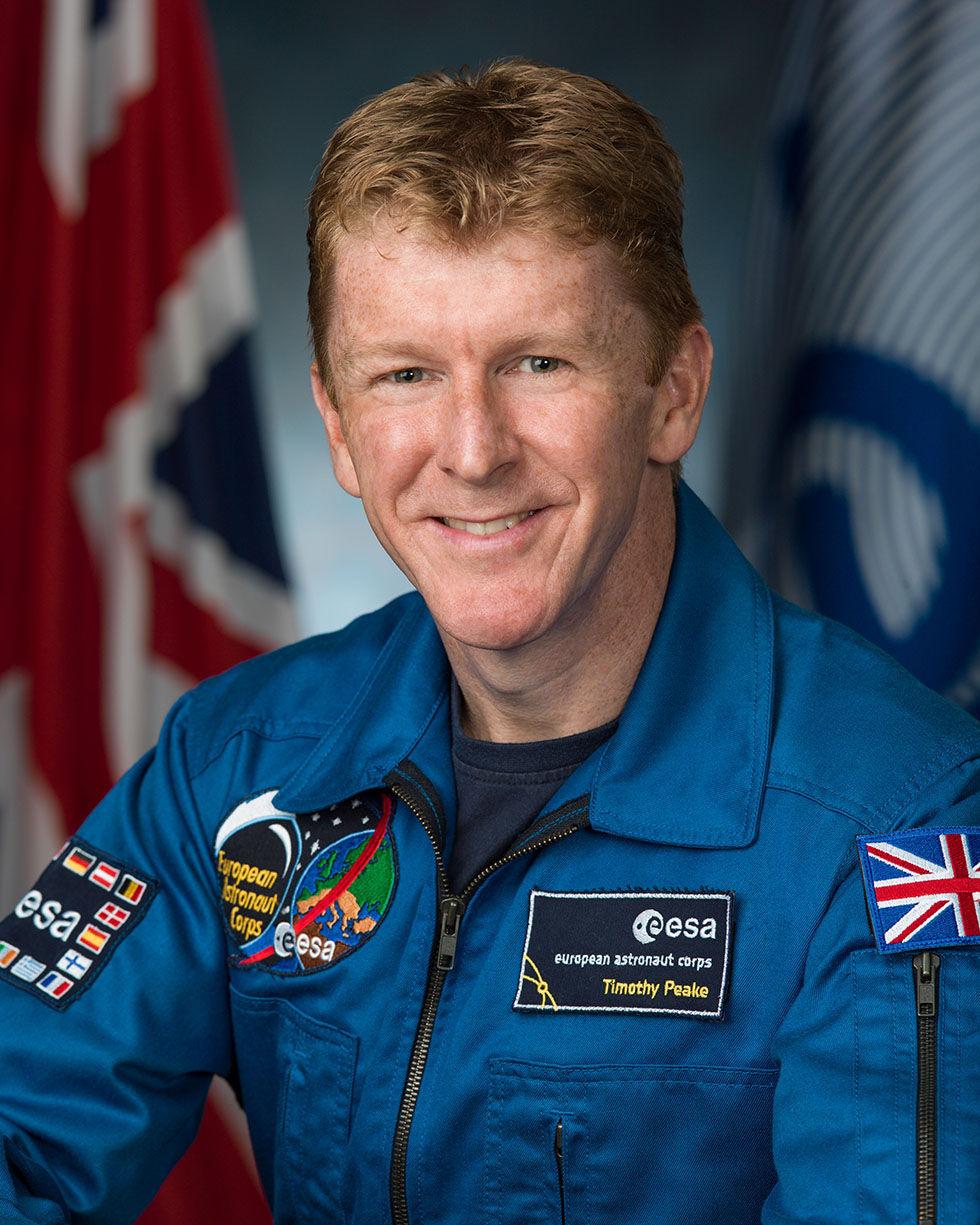 Tim sprang maraton i rymden