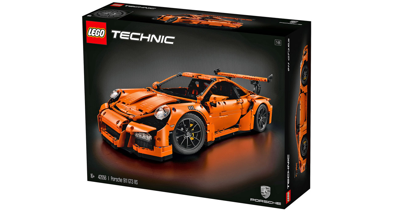 Lego presenterar Porsche 911 GT3 RS