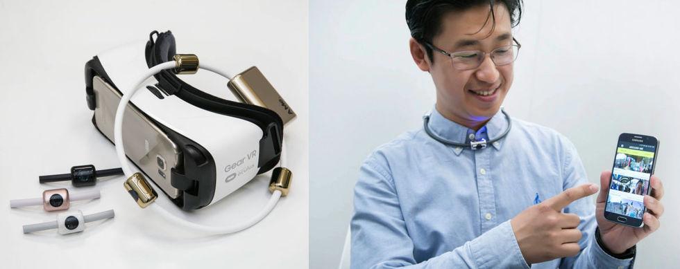 Filma ditt liv i 360 grader med halsband från Samsung