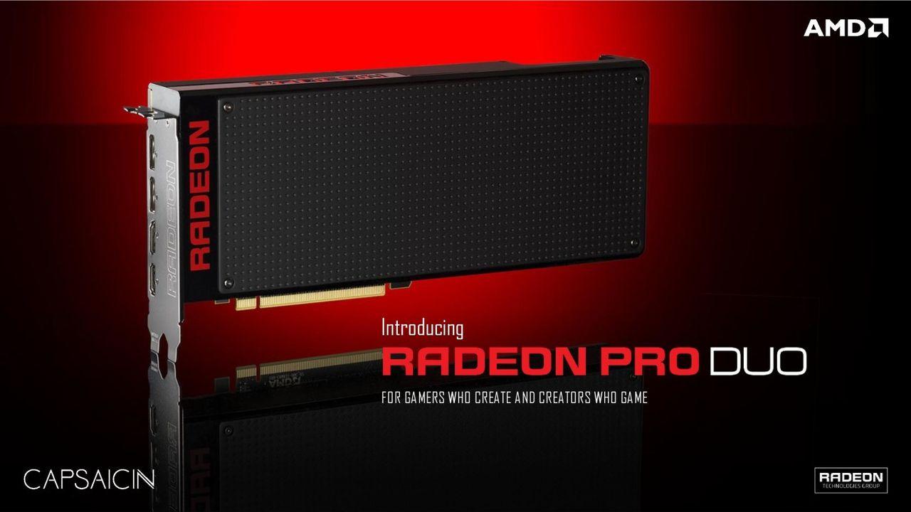 Kinesisk tekniksajt testar prestandan för Radeon Pro Duo