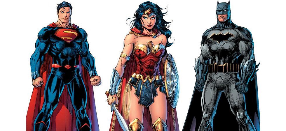 DC visar upp sina nya superhjältedräkter för DC Rebirth