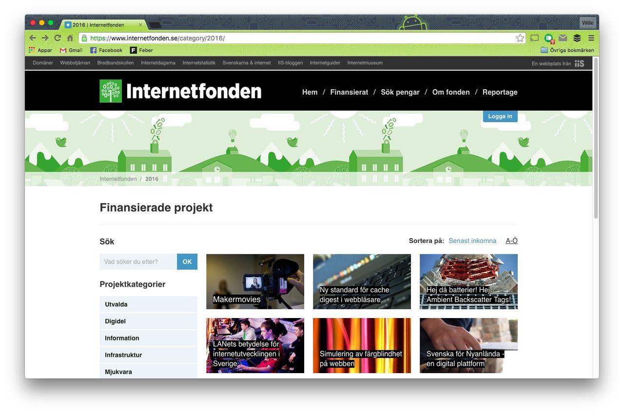 IIS delar ut pengar till internetfrämjande projekt