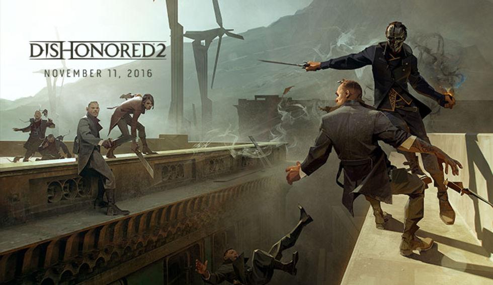 Släppdatum för Dishonored 2